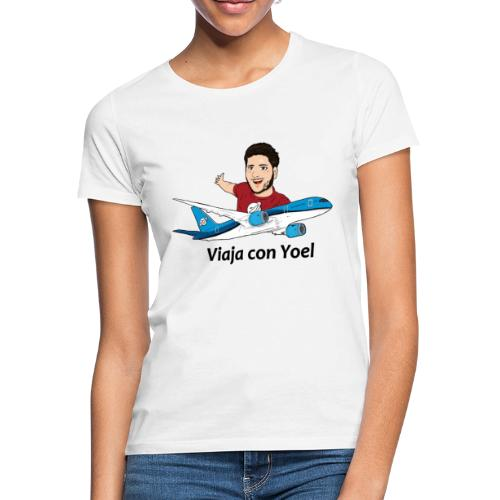 Frequent Flyer Red Viaja con Yoel - Camiseta mujer