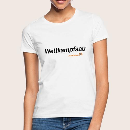 wettkampfsau - Frauen T-Shirt