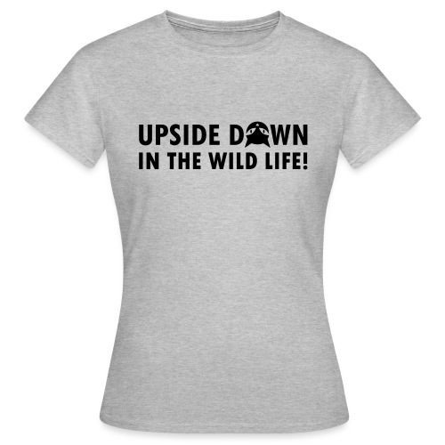 Upside Down Cat - Frauen T-Shirt