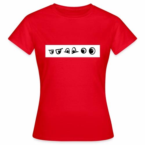 graffiti caracter augen - Frauen T-Shirt