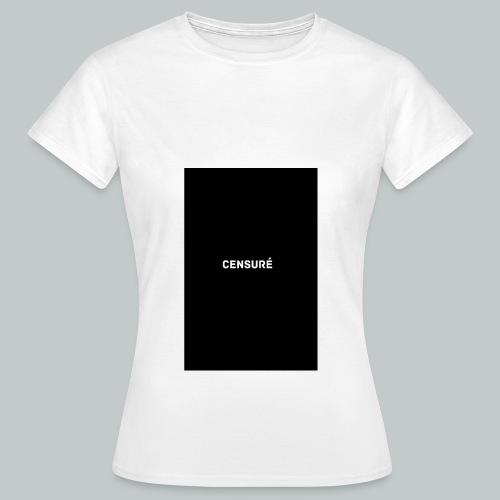 censuré png - T-shirt Femme