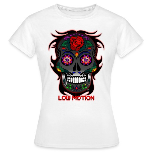 Low Motion Face Gray - Camiseta mujer