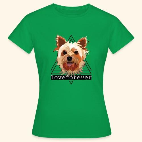 YORKIE LOVE FOREVER - Camiseta mujer