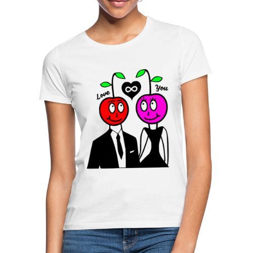 Happy Kirsche - Frauen T-Shirt