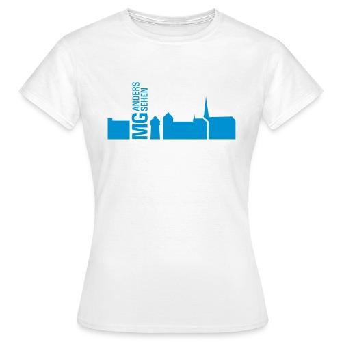 MG anders sehen Logo - Frauen T-Shirt