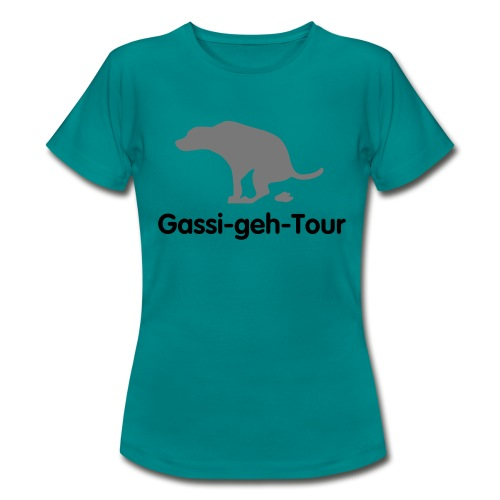 gassigehen - Frauen T-Shirt