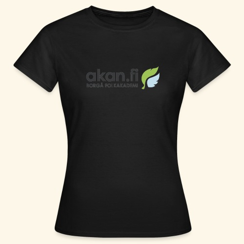 Akan Black - Naisten t-paita