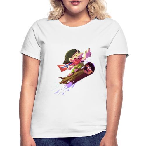 Troll snowboarder - T-shirt Femme