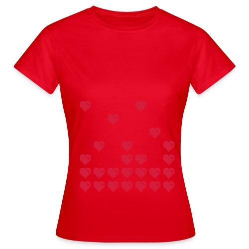 ibisdesigns pixelheart1 vec - Women's T-Shirt