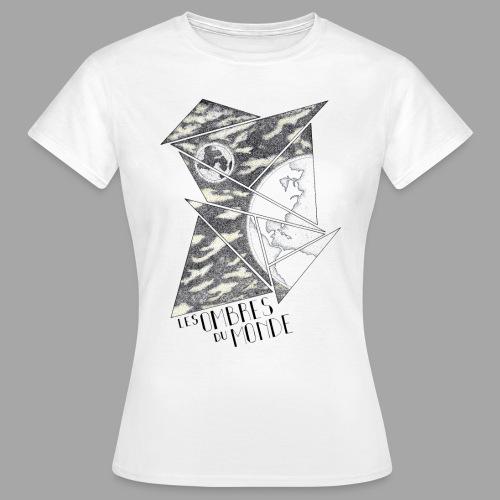 Ombres du monde - La valse à mille points - T-shirt Femme