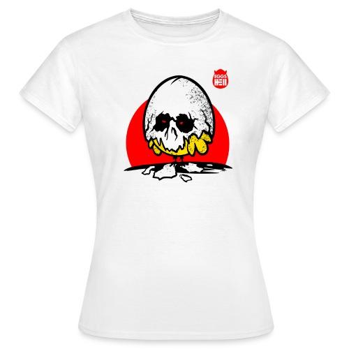Eggshell skull - easter egg - Women's T-Shirt
