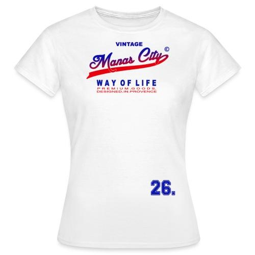 Manas City - T-shirt Femme