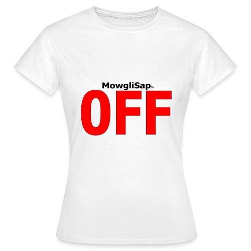 MowgliSap OFF Red - T-shirt Femme