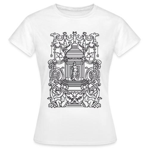 Ornament pixel art - Maglietta da donna
