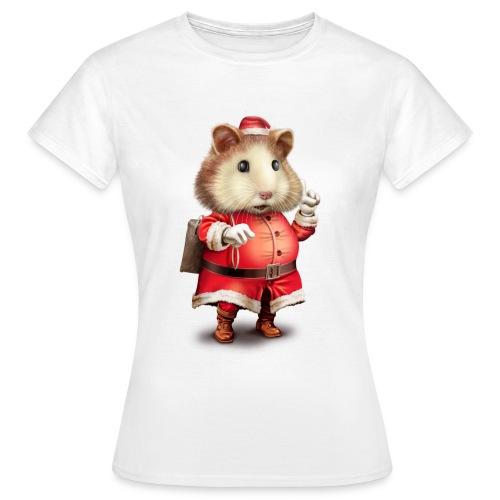 SANTA HAMSTER - Women's T-Shirt