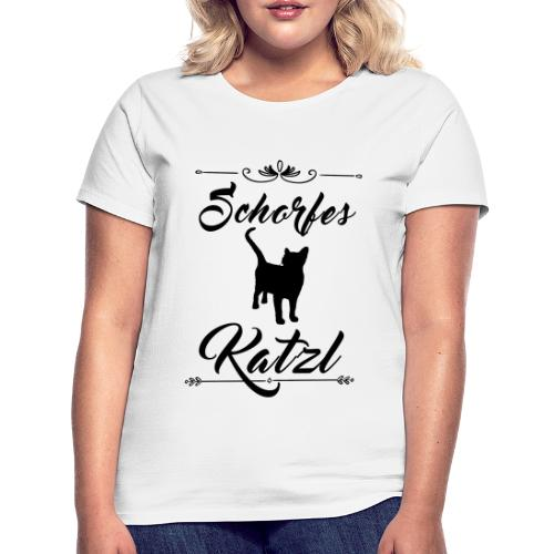 Schorfes Katzl - Frauen T-Shirt