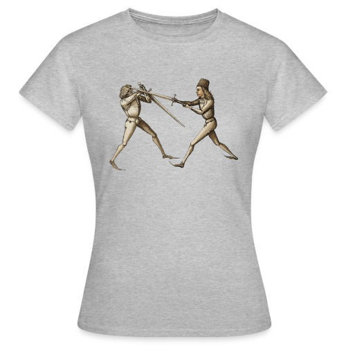 Talhoferfechter frei - Frauen T-Shirt