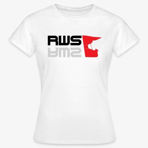 RWS logga - T-shirt dam