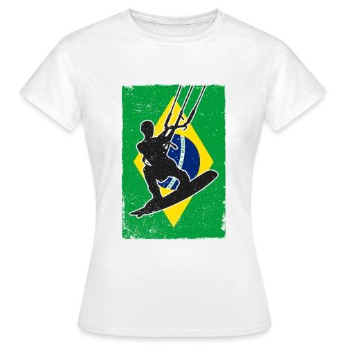 Kitesurfen - Brasilien - Frauen T-Shirt