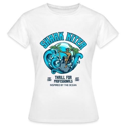 Shark Kitesurfer for professionals - Frauen T-Shirt