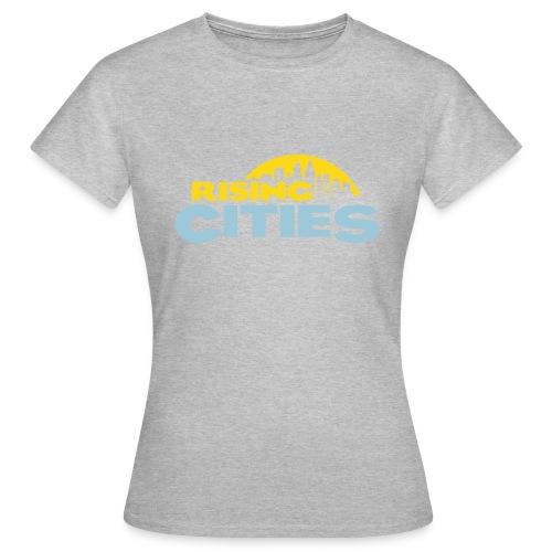Rising Cities Logo stylized - Frauen T-Shirt