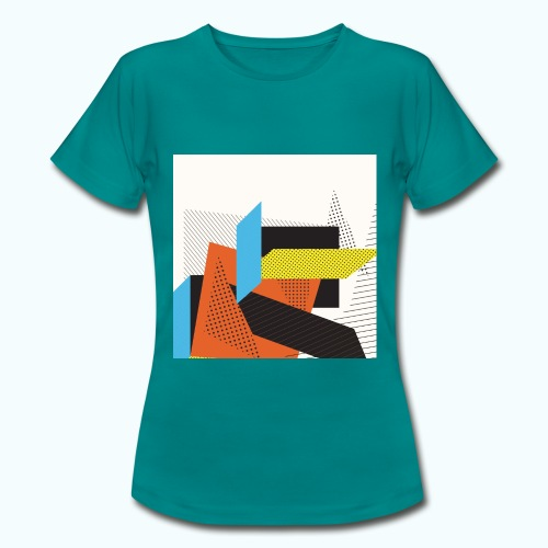 Vintage shapes abstract - Women's T-Shirt