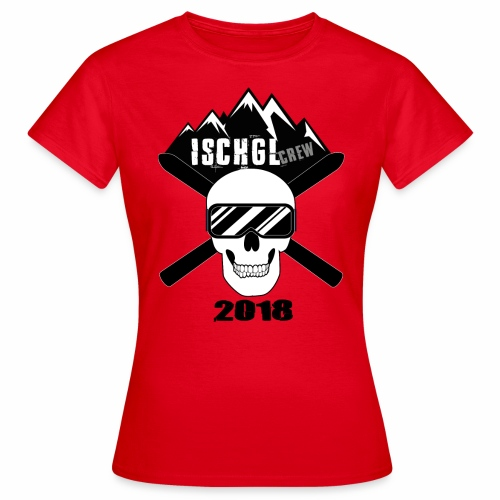 ischgl_crew_2018 - Frauen T-Shirt
