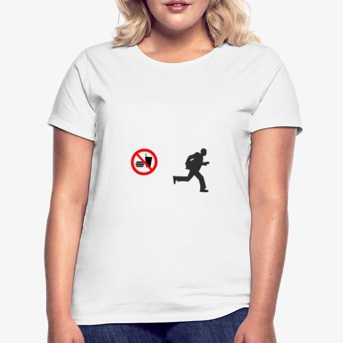 No Food - No Fun - Frauen T-Shirt