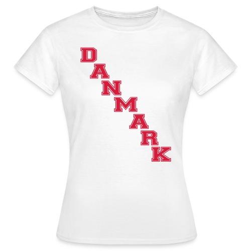 danmarkoldshool - Dame-T-shirt