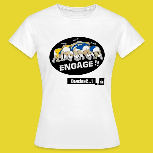 ENGAGE png - T-shirt Femme