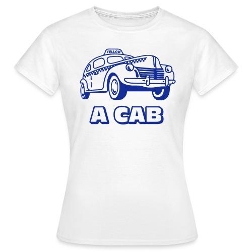 A cab - T-shirt dam
