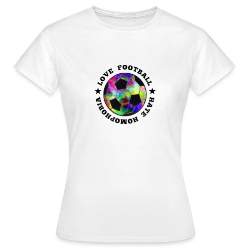 hatehomophobia2 png - Frauen T-Shirt