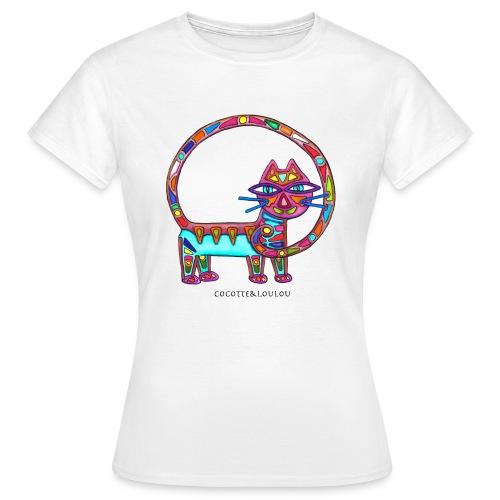 Fiboniccat - T-shirt Femme