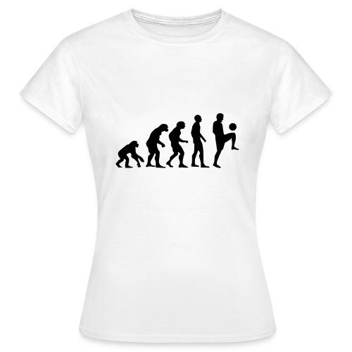 Football Evolution - Women's T-Shirt