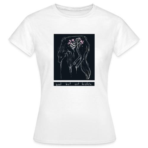 wolf. | Bent But Not Broken - Frauen T-Shirt