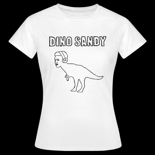 Coras exclusiver Dino Sandy Merch - Frauen T-Shirt