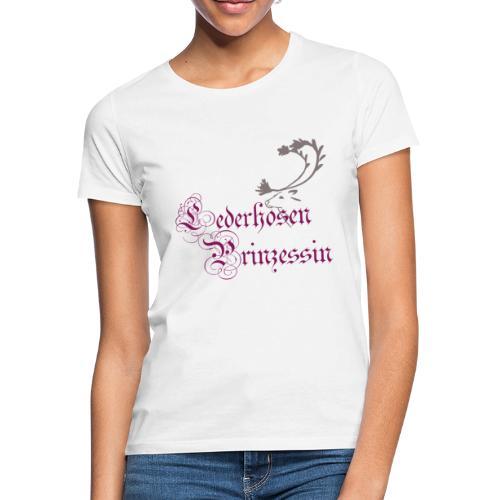 Lederhosen Prinzessin - Frauen T-Shirt