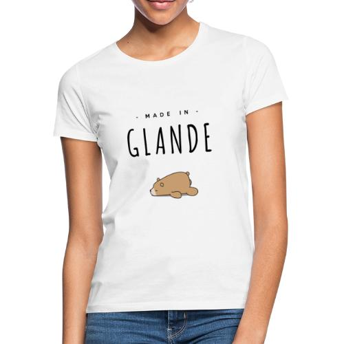 MADE IN GLANDE (Ours) - T-shirt Femme