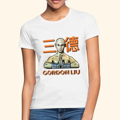 Gordon Liu - San Te Monk (Official) 6 prikker - Dame-T-shirt
