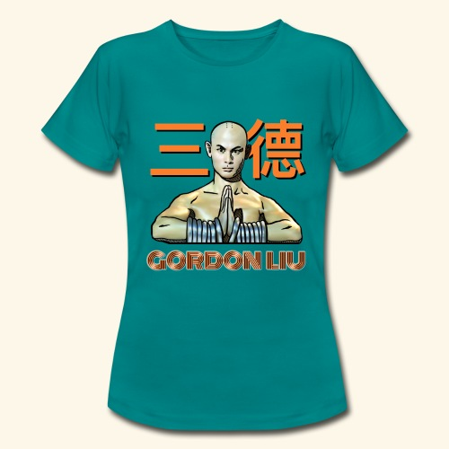 Gordon Liu - San Te Monk (Official) 6 prikker - Dame-T-shirt