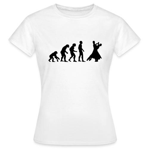 Tanz-Evolution - schwarz - Frauen T-Shirt