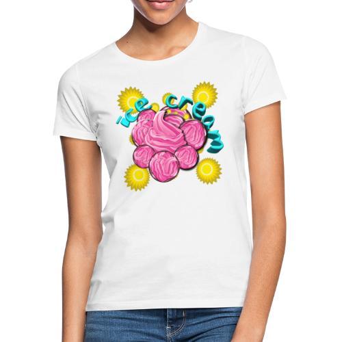 Ice cream djf - Camiseta mujer