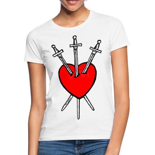 Tarot Sydän - Naisten t-paita