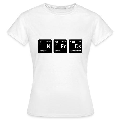 Element Nerds - Frauen T-Shirt