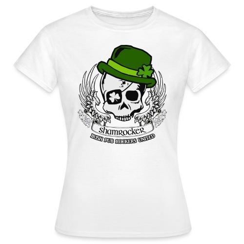 Shamrocker Banderole - Frauen T-Shirt
