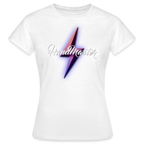LOGOHANDMASTER4sansfondrecadré png - T-shirt Femme