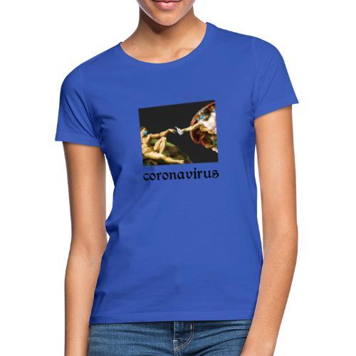 coronavirus, коронавирус, its coronatime, covi 19 - Women's T-Shirt