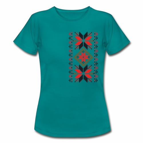 Ornament ludowy - Koszulka damska