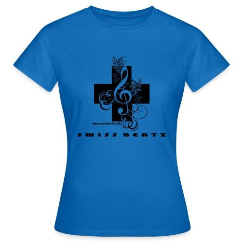 Swiss Beatz Logo with L - Frauen T-Shirt