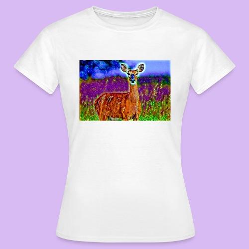 Cerbiatto con magici effetti - Maglietta da donna